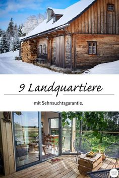 Entdecke die 9 liebsten Landunterkünfte unserer Facebook Fans und buche jetzt unvergessliche Ferien in Chalet, Baumhaus oder Almhütte! www.landreise.de/landingpages/facebooklieblinge-2016