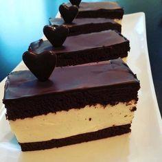 Mega čokoládový nízko sacharidový zákusok - recept