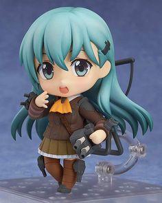 Suzuya Nendoroid Figure ~ Kantai Collection (KanColle) $48.00 http://thingsfromjapan.net/suzuya-nendoroid-figure-kantai-collection-kancolle/ #kantai collection #kancolle #Japanese anime figure