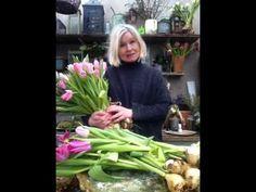 Blomsterverkstad: DIY tulpan arrangemang *Tulip arrangement