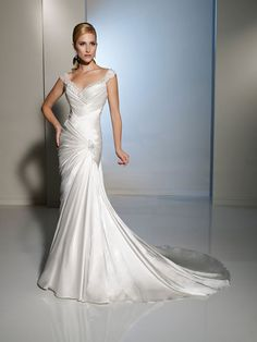 Sophie Tolli --WOAH!! think i just found my dress!!!
