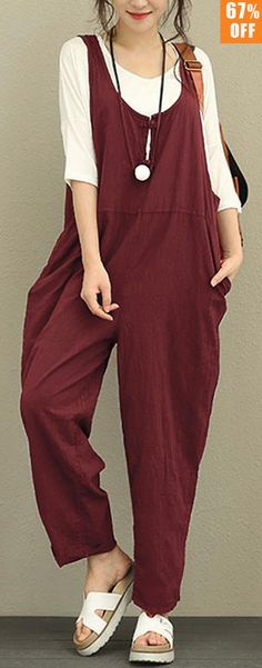 I love those fashionable and beautiful jumpsuits from banggood.com. Find the most suitable and comfortable outfit at incredibly low prices here.