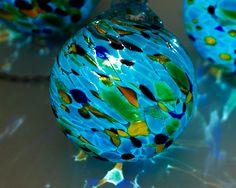 SOLAR POWERED STRING LIGHTS   Glass Globes, Strings, Light, Garden Decor,  Solar