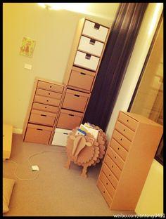 Aussie brand paperboard furniture