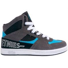 Etnies Ollie King SMU Kids Shoes Grey Black Blue