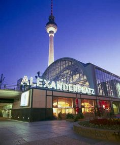 GERMANY, Berlin: The famous Berlin Alexanderplatz and the awesome Fernsehturm - the views are spectacular, as you can guess. Week End Berlin, Berlin Today, East Germany, Berlin Germany, Countries Around The World, Around The Worlds, Pictures Of Germany, Sites Touristiques, Barcelona
