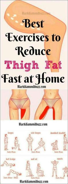 Best Thigh Fat Workouts to lose inner thigh fat, hips, and tone legs at home. These exercises will reduce thighs and hips fast in 7 days. Burn Fat Fast: Best Thigh Fat Workouts to lose inner thigh fat, h… Fitness Workouts, Fitness Routines, Pilates Workout, Easy Workouts, At Home Workouts, Fitness Tips, Workout Routines, 1 Week Workout, Workouts To Burn Fat
