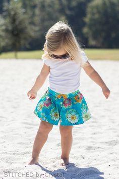 STITCHED by Crystal: Moku Shorts