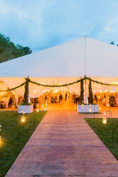Greenville South Carolina wedding by Tara Guerard Soiree as seen in Martha Stewart Weddings. Photos by Corbin Gurkin