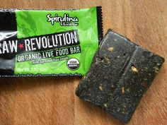 Raw Revolution - Spirulina Cashew Bar