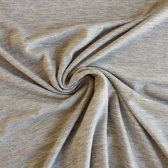 Light Grey Marl Jersey - Dressmaking Fabric