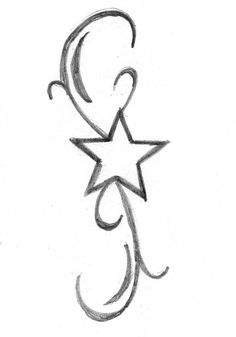 use a star with the Celtic friendship symbol