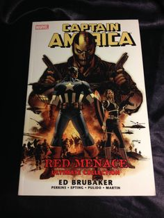 Captain America: Red Menace. Marvel TPB Softcover Graphic Novel Ed Brubaker