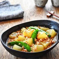 【あったか節約冬レシピ】大根の鶏そぼろあんかけ〈つくりおき〉 : ゆーママ(松本有美)