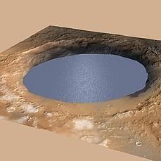 El rover Curiosity ha descubierto pruebas en el Monte Sharp que indican que el Planeta rojo mantuvo un clima adecuado para contener agua durante un tiempo prolongado