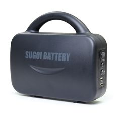 Portable mega battery with a capacity of 75,000 mAh, enough to charge the iPhone over 50 times.