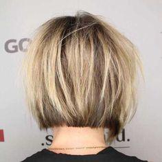 Short-Bob-Hairstyle 20 Chic Court Bob Coupes de cheveux pour 2018