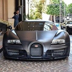 Outrageous is the only way to describe the Bugatti Veyron. The fastest production car in the world with a top speed of Supercars, Most Expensive Sports Car, Bugatti Cars, Lamborghini Huracan, Ferrari 458, Super Sport Cars, Bugatti Chiron, Picture Collection, Car Manufacturers