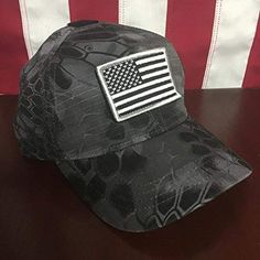cf3f1ec6b68cfd Kryptek Typhon Patch Cap - FREE US Flag Patch included Review