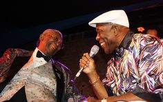 Buddy Guy and BB King (photo by Nunu Zomot)