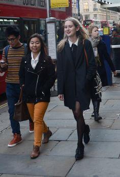 Street style in London, England