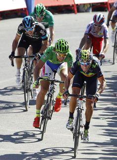 Vuelta a Espana Stage 3 Valverde takes on Sagan (Getty Images)