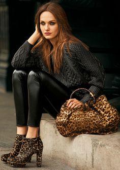 leopard bag!