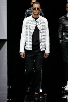 74737d158340 8 Best RUNWAY  Emporio Armani SS15 images