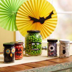 Halloween Jar Characters
