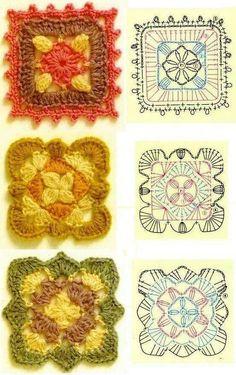 48525ef5c 86 nejlepších obrázků z nástěnky granny square | Crochet squares ...