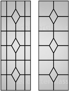 Queen Anne decorative leaded glass for windows