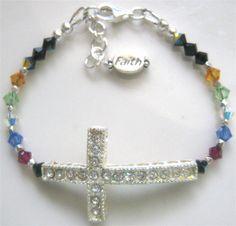 salvation bracelet with sideways cross - Google Search