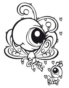 Littlest pet shop Coloring Pages 33