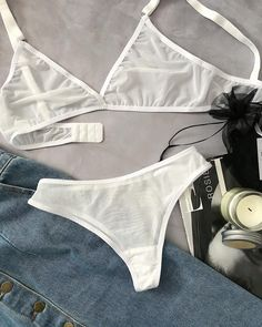 Lingerie that you do not feel on the body of creatures …. Underwear that you do not feel on the body of creatures … # underwear # which # is on # not # feel # exists… Wedding Lingerie, Luxury Lingerie, Lingerie Set, Honeymoon Lingerie, Lingerie Dress, Lingerie Outfits, Pretty Lingerie, Look Fashion, Fashion Outfits