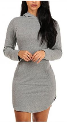 Cheap women dress, Buy Quality mini sexy dress directly from China spring women dress Suppliers: Long Sleeve Hooded Cotton Casual Spring Women's Dresses Hot Sale Black/Grey/Burgundy Bodycon Stretchy Mini Sexy Dresses Vestidos Mini Shirt Dress, Long Sleeve Mini Dress, Sweatshirt Dress, Casual Dresses For Women, Sexy Dresses, Clothes For Women, Mini Dresses, Dress Casual, Women's Casual