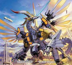 Takayama Toshiaki, Mecha, Dragon,