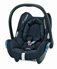 ef3efafdd7dc Maxi-Cosi CabrioFix Group 0+ Baby Car Seat (Total Black) Suitable from