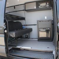 "Townley Sprinter Van 144"" Cargo - Comfort Microwave Wall Cabinet, Wall Storage Cabinets, Base Cabinets, Storage Shelves, Cupboards, Camper Beds, Camper Van, Led Puck Lights, Bus House"