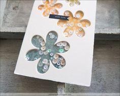 Eine Hand voll Blumen | Im Paillettenrausch No.2 Mary Janes, Shaker Cards, Blog, Paper, Flowers, Blogging