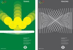 Creative Review - Olympics movement posters. London