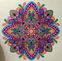 ColorIt Mandalas to Color Volume 1 Colorist: Karen Tyler #adultcoloring #coloringforadults #mandalas #mandalastocolor