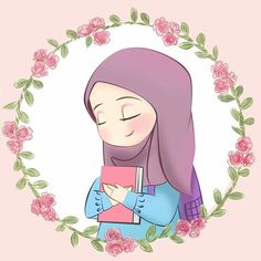 Discovered by غم في عشق ✨. Find images and videos about girl, draw and hijab on We Heart It - the app to get lost in what you love. Art Magazin, Islamic Cartoon, Anime Muslim, Hijab Cartoon, Lines Wallpaper, Blog Backgrounds, Cute Girl Wallpaper, Cute Icons, Cartoon Pics