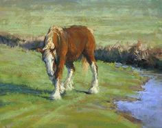 Shedding Winter, Enter Spring by Kim Lordier Pastel ~ 16 x 20 by jolene Pastel Art, Pastel Paintings, Horse Paintings, Oil Paintings, Equine Art, Horse Art, Best Artist, Abstract Landscape, Contemporary Artists