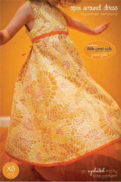 Spin Around Dress - Free Pattern/Tutorial!