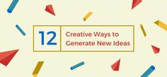 Feeling uninspired? Learn how you can overcome creative block and generate more original ideas.
