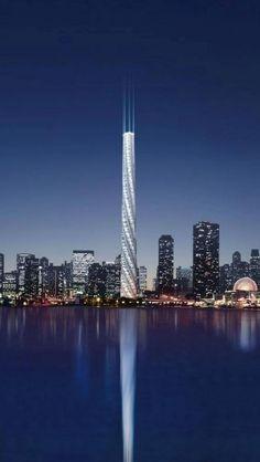 ~ Tower in Santiago by Calatrava ~