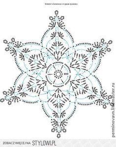 Most up-to-date Photo Crochet Doilies mini Popular Nowości Crochet Snowflake Pattern, Crochet Motif Patterns, Crochet Stars, Christmas Crochet Patterns, Crochet Snowflakes, Crochet Mandala, Crochet Diagram, Thread Crochet, Crochet Flowers