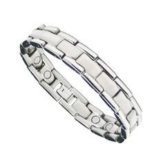 Mens Magnetic Titanium Therapy Golf Bracelet 85 ** More info could be found at the image url. Bracelets For Men, Mens Fashion, Therapy, Golf, Jewelry, Clothing, Image, Style, Moda Masculina