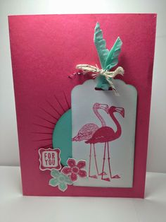 Cards for a Cause… Flamingo Lingo in PINK!