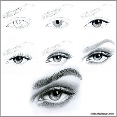 Eyes | ... of Tutorials and Techniques on How to Draw Eyes » Tutorials Press